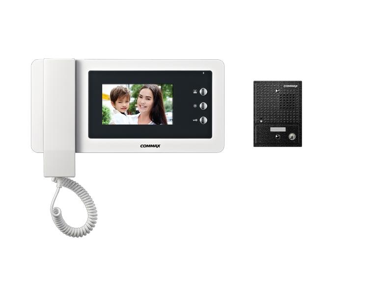 commax inch video phone and door camera kit cdv n drc cgn cdv 43n drc 4cgn2