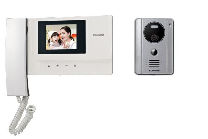 Commax Video Door Intercom System Kit Cdv35a  Drc4g