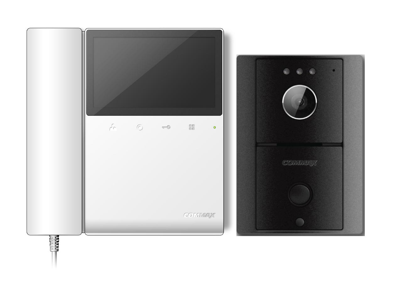 Commax 4 3 Quot Videophone And Door Camera Kit Cdv 43k Drc 4l