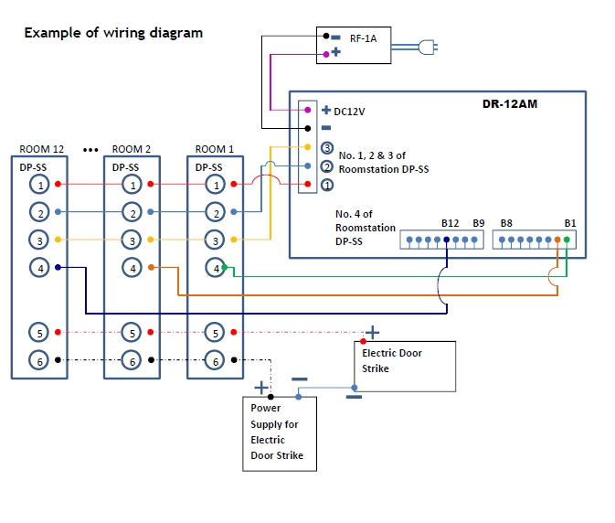 DR-12AM wiring diagram