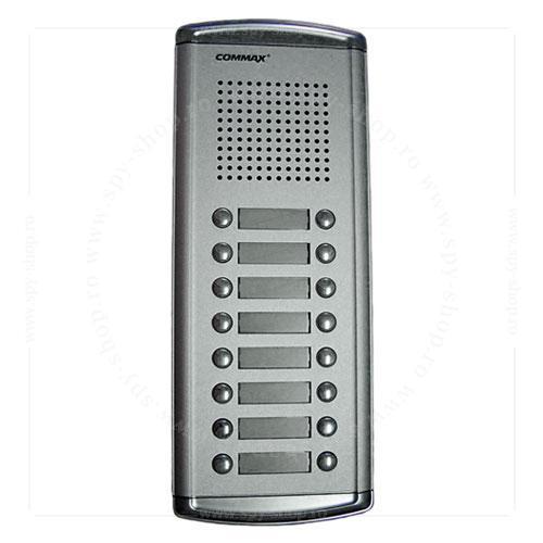 COMMAX 16 Buttons Audio Intercom Door Bell Panel for